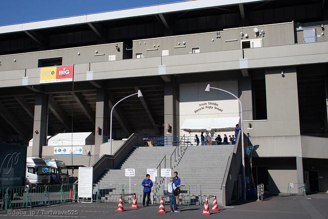 20190508 秩父宮ラグビー場 正門 / Prince Chichibu Memorial Rugby Stadium