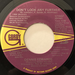 DENNIS EDWARDS:DON'T LOOK ANY FURTHER(LABEL SIDE-A)