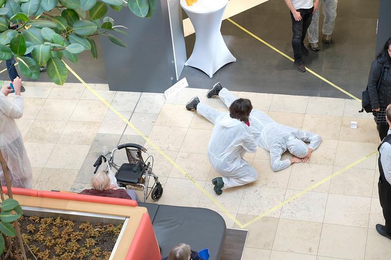 artspring 2019_artspring spots_KEP Raumforschunglabor in den Schînhauser Arcaden_Foto Ralph Bergel
