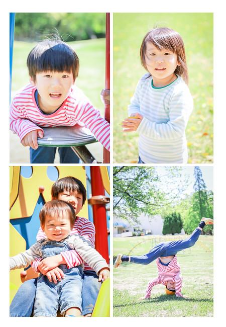 森林公園(愛知県尾張旭市)で親子撮影会