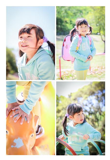 小学校入学記念の親子撮影会 ランドセル 森林公園(愛知県尾張旭市)