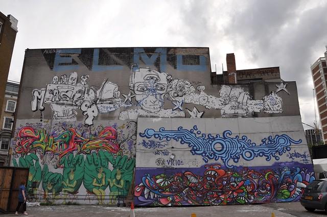 Elmo, Masker, Milo Tchais, Run, Zezao, Gerard Gademann