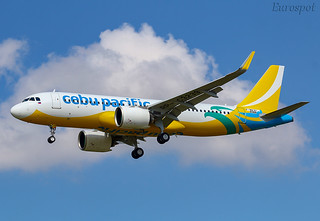 F-WWBI Airbus A320 Neo Cebu Pacific