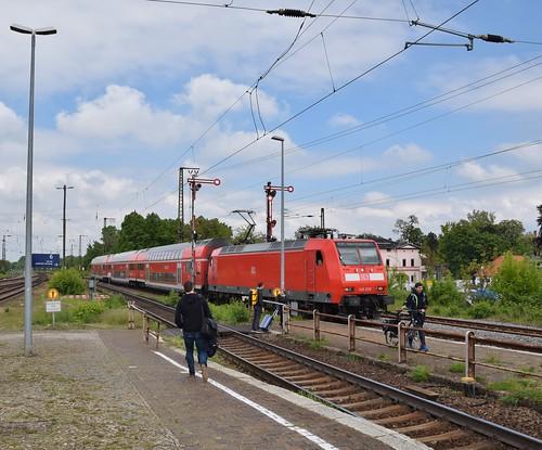 DB 146 030 Regional-Express30 Magdeburg-Halle) Köthen Köthen