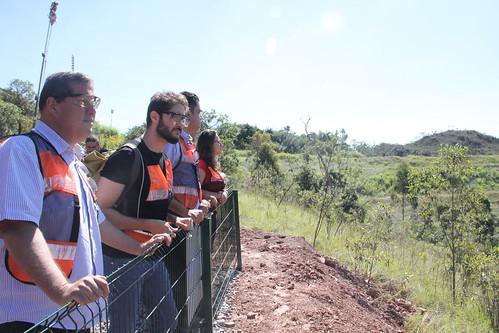 Visita técnica para vistoriar a Mina Mar Azul, com a finalidade de verificar as condições de segurança e estabilidade da barragem de rejeitos de minerVisita técnica para vistoriar a Mina Mar Azul, com a finalidade de verificar as condições de segurança e