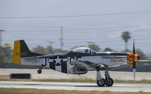 P-51D Lady Alice Take Off Roll