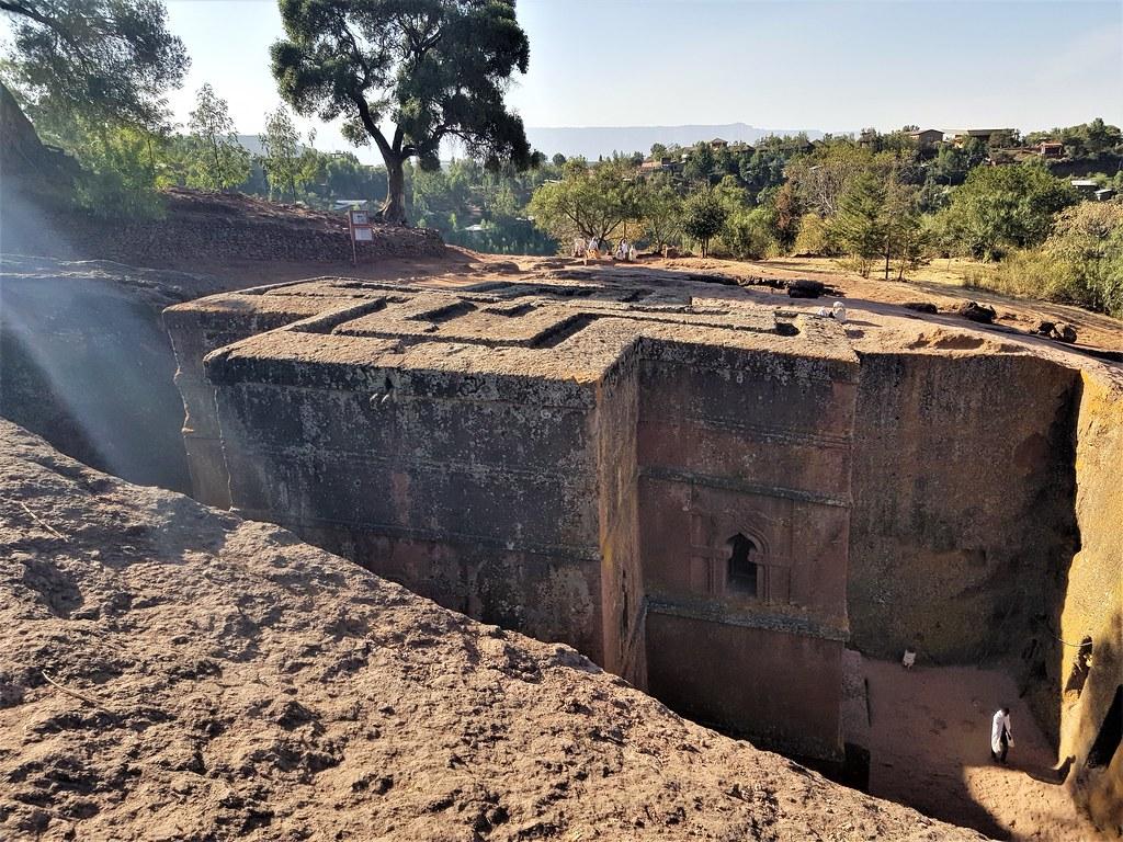 Kościół Bet Gyorgis (świętego Jerzego), Etiopia