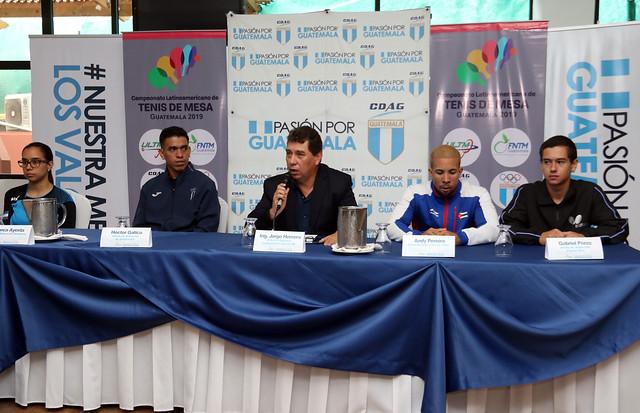 Presentación clasificatorio a Lima y Latinoamericano de tenis de mesa
