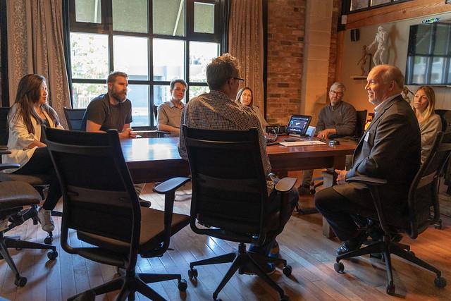 Premier John Horgan visits Image Engine Studios