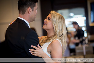 Gazing Up at Her New Husband