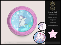 Dirty Secrets - Unicorn Clock (Group Gift)