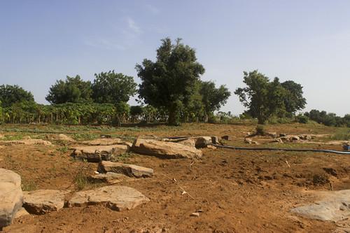 Kénié, le jour le lève pour son barrage hydro-électrique sur le fleuve Niger