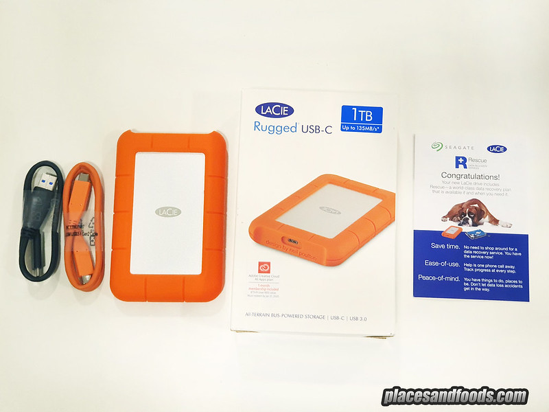 lacie rugged harddrive