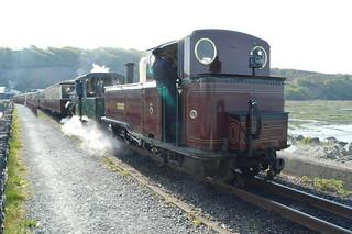 Ffestiniog Railway, on the Cob.
