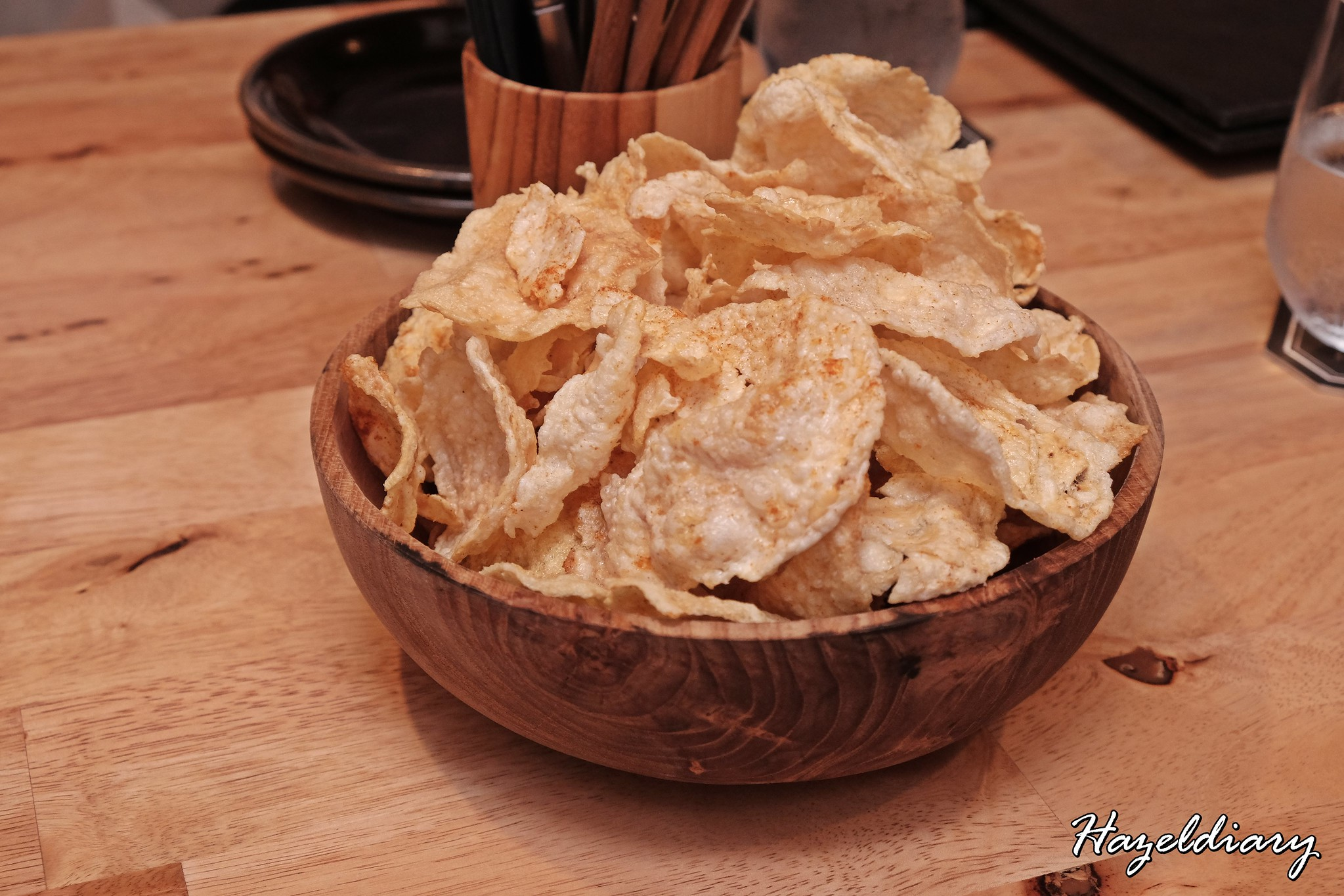 The Sampan Restaurant-Emping Crackers