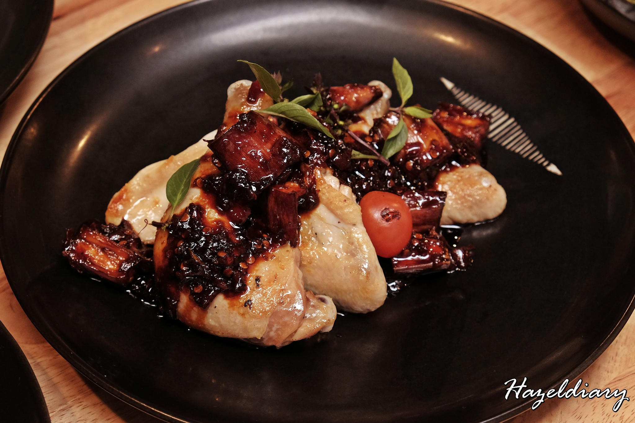 The Sampan Restaurant- Charred Chicken