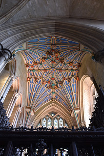 Winchester, Hampshire, cathedral, Langton's chantry chapel, vault