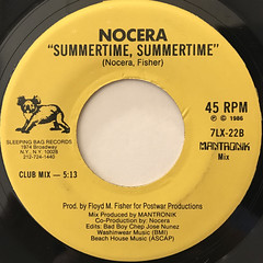 NOCERA:SUMMERTIME, SUMMERTIME(LABEL SIDE-B)