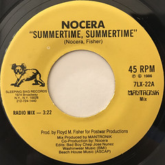 NOCERA:SUMMERTIME, SUMMERTIME(LABEL SIDE-A)
