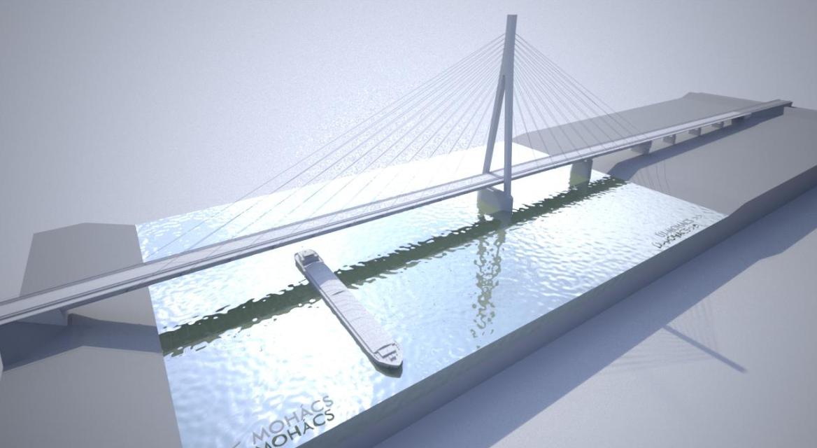 Elkezdhetik építeni a Szeged – Pécs gyorsforgalmi út Duna-hídját