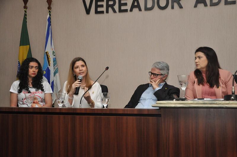 Audiência pública com o objetivo de debater sobre a conscientização da endometriose no município de Fortaleza (21.05.2019)