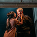 12. Leah Walker as Julia and George Costigan as The Cardinal. Photo credit Mihaela Bodlovic
