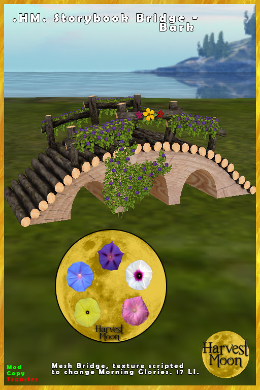 Harvest Moon – Storybook Bridge – Bark