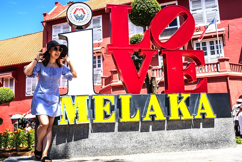I LOVE MELAKA--Malacca