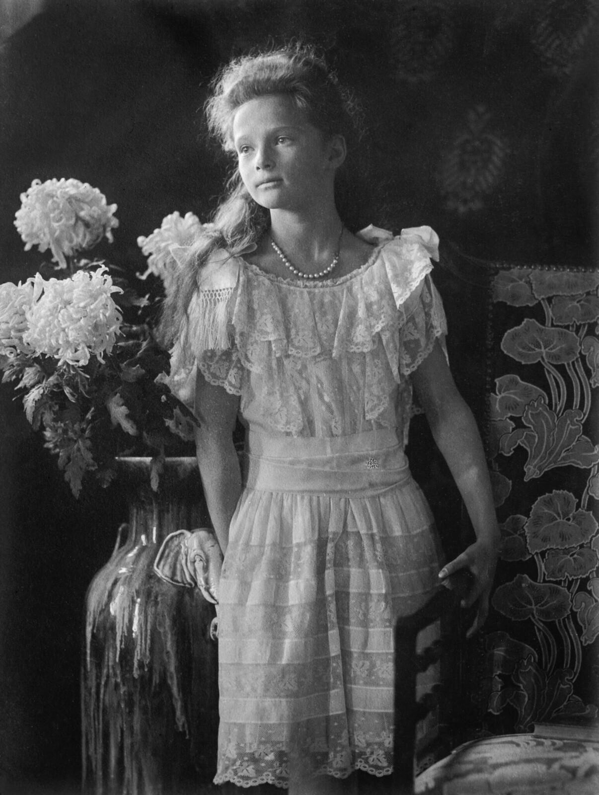 1913. Великая княжна Татьяна Николаевна