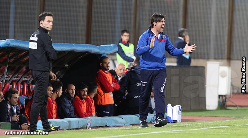 Andrea Sottil salterà il match d'andata per squalifica