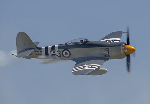 Hawker Sea Fury Photo Pass