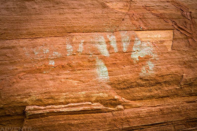 Green Reverse Handprint