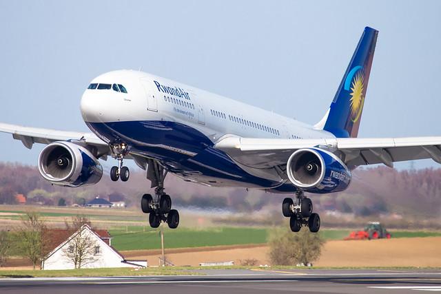 BRU - Airbus A330-243 (9XR-WN) Rwandair