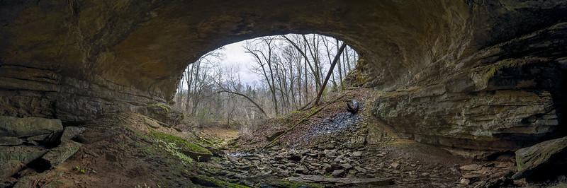 Twilight, John Henry Demps Cave (Sullivan Entrance), White County, Tennessee  1