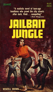 Belmont Books 90-265 - Wenzell Brown - Jailbait Jungle