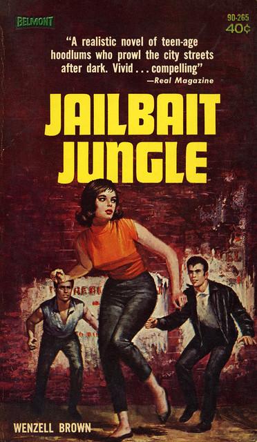 Belmont Books 90-265 - Wenzell Brown - Jailbait Jungle
