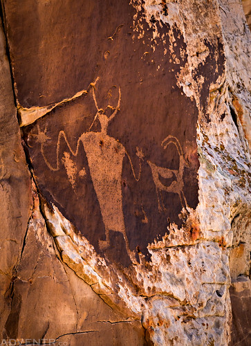 Cockleburr Wash Petroglyphs