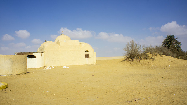 A Mosque at Egypt's Wadi El Rayan protectorate