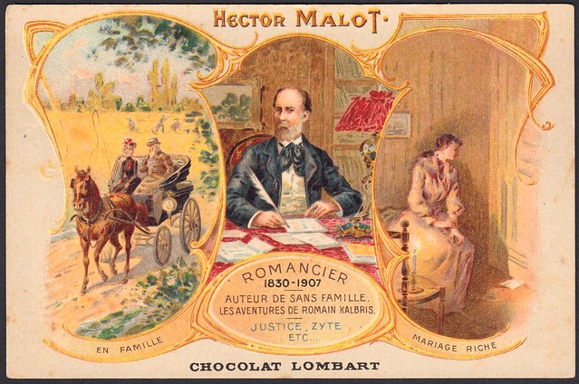French Tradecard - Hector Malot