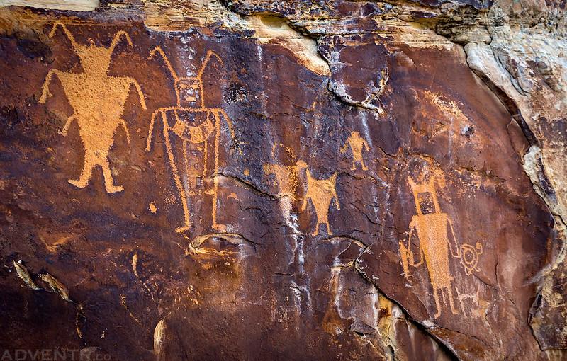 McKee Petroglyph Panel