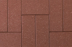 Admiral Red Paver Wire Cut Texture Brick Pavers