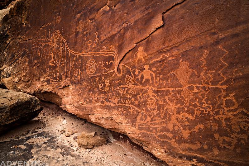 Necklace Panel Petroglyphs