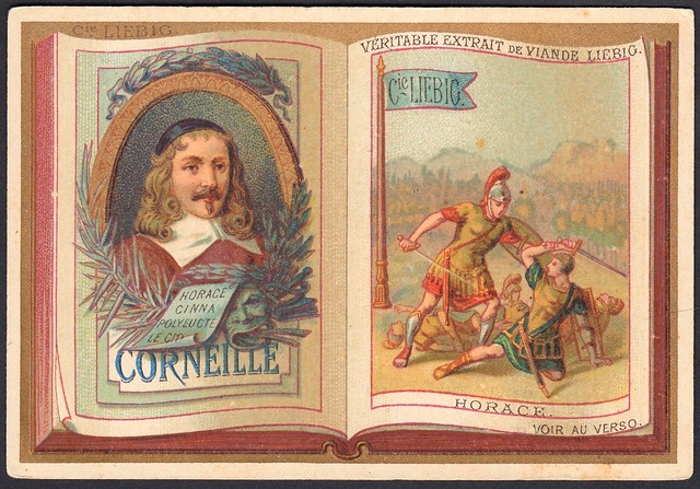 """Liebig S191 - Classic French Authors """"Corneille"""""""