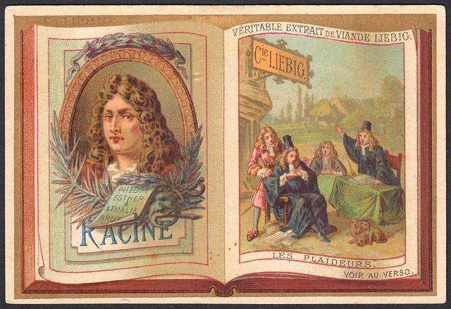 "Liebig S191 - Classic French Authors ""Racine"""
