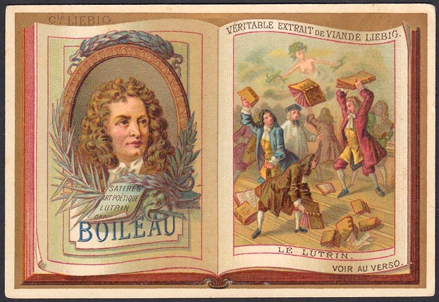 """Liebig S191 - Classic French Authors """"Boileau"""""""