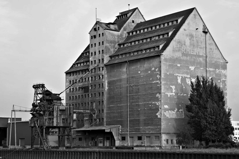 The warehouses at Alberner Hafen, Vienna