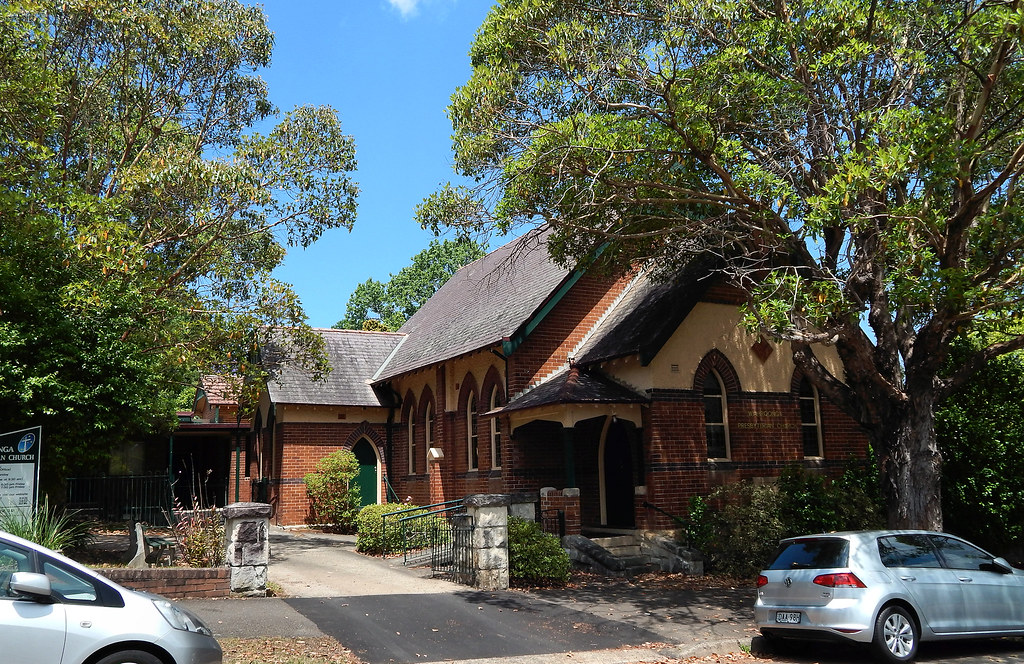 Wahroonga Presbyterian Church, Wahroonga, Sydney, NSW.