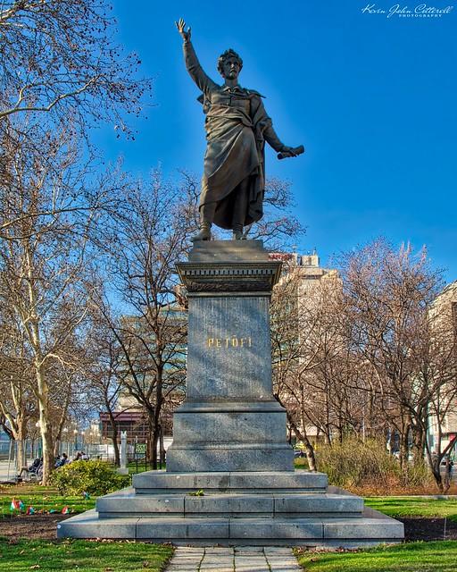 Sándor Petőfi Statue