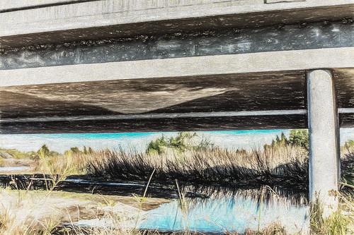 california park bridge bikepath america painting unitedstates bakersfield chesterave kerncounty hdrphotography postedonflickr photosbydavid canonrebelxsi jfflickr uplandsoftheriverparkway usa chesteravenue