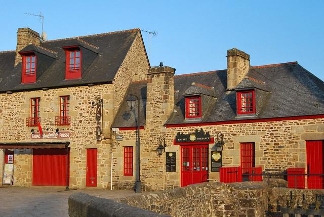 place du château, Fougères